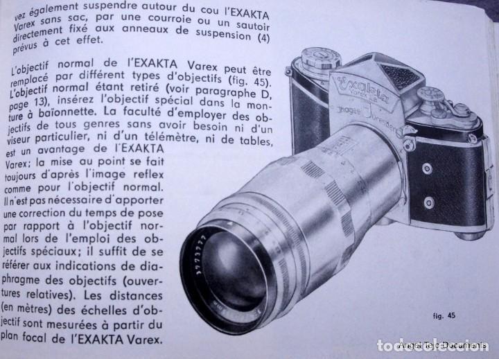 Cámara de fotos: Manual Exakta Varex II a .Excepcional.En Francés. - Foto 9 - 218595775