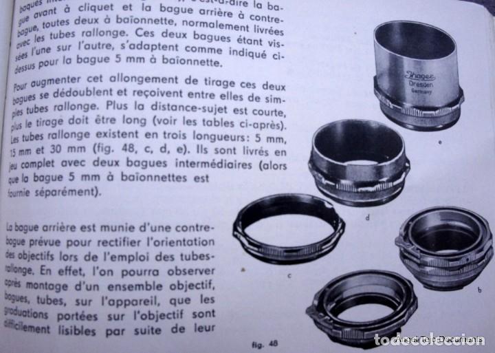 Cámara de fotos: Manual Exakta Varex II a .Excepcional.En Francés. - Foto 11 - 218595775