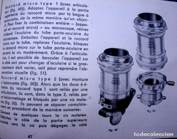Cámara de fotos: Manual Exakta Varex II a .Excepcional.En Francés. - Foto 12 - 218595775