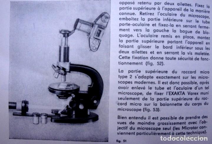 Cámara de fotos: Manual Exakta Varex II a .Excepcional.En Francés. - Foto 13 - 218595775