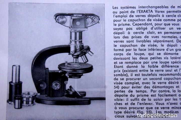 Cámara de fotos: Manual Exakta Varex II a .Excepcional.En Francés. - Foto 15 - 218595775