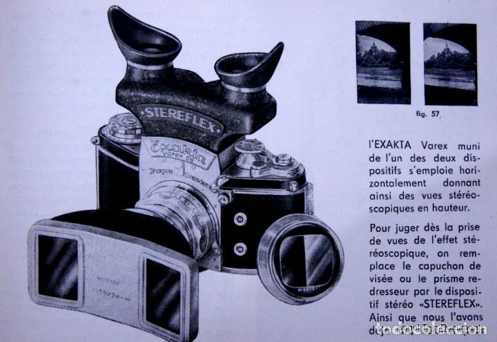 Cámara de fotos: Manual Exakta Varex II a .Excepcional.En Francés. - Foto 16 - 218595775