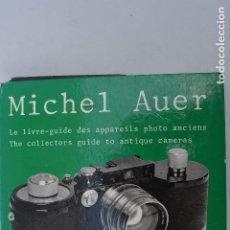 Cámara de fotos: THE COLLECTORS GUIDE TO ANTIQUE CAMERAS MICHEL AUER 2280 CAMARAS DESCRITAS Y PRECIOS. Lote 218631407