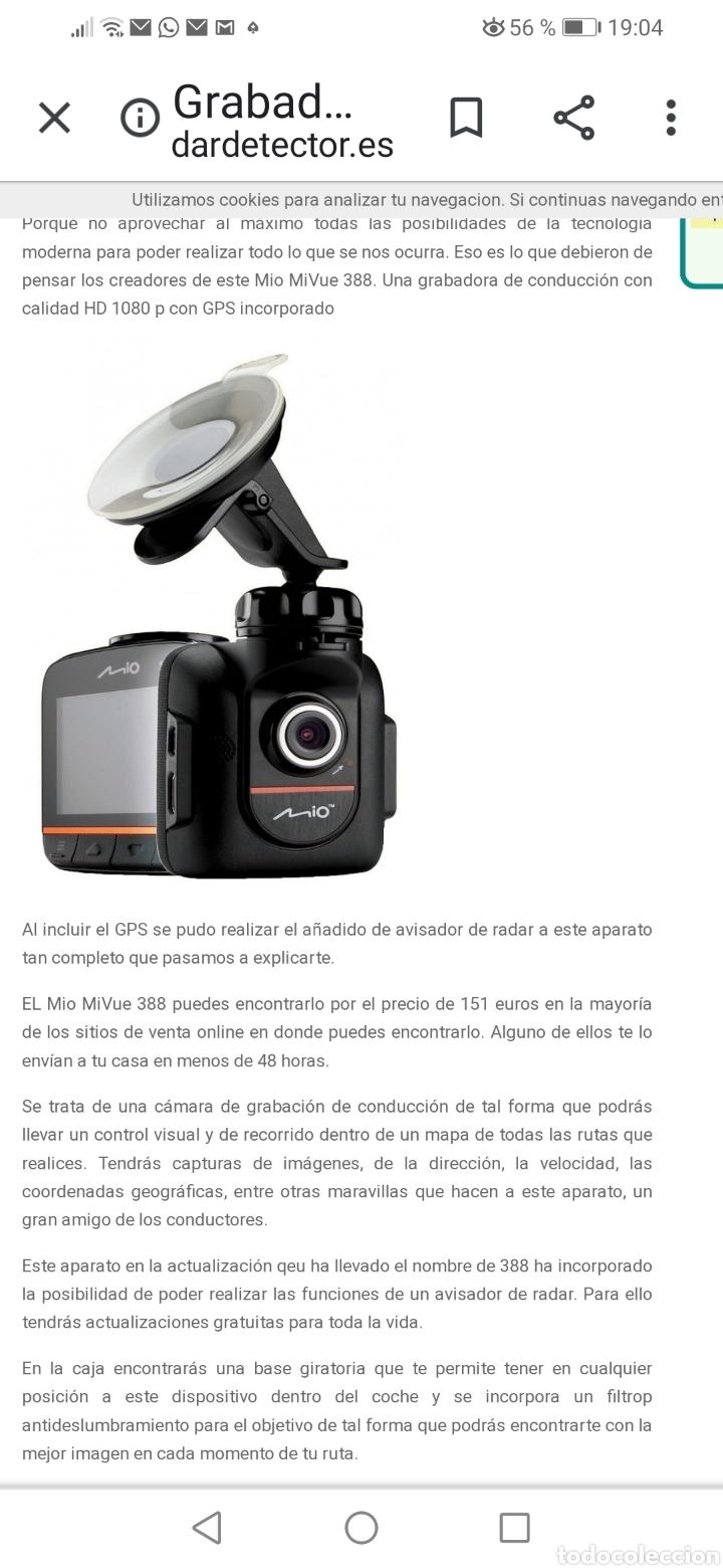 Cámara de fotos: GRABADORA DE CONDUCCIÓN MIO - Foto 6 - 218749502