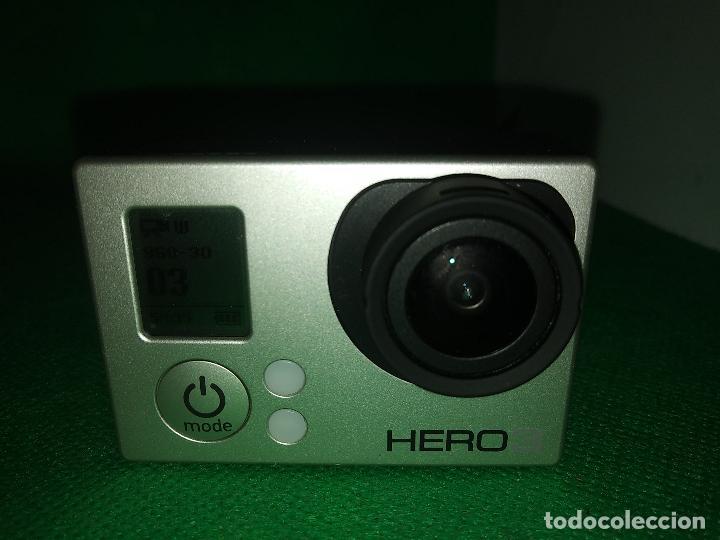 Cámara de fotos: Cámara gopro HERO 3 GO PRO con funda carcasa - Foto 2 - 219213480