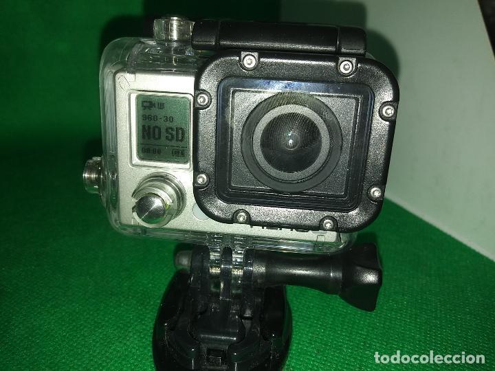 Cámara de fotos: Cámara gopro HERO 3 GO PRO con funda carcasa - Foto 4 - 219213480