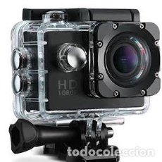 Cámara de fotos: CÁMARA SPORTS 1080P FULL HD VICTSING. Lote 220194011