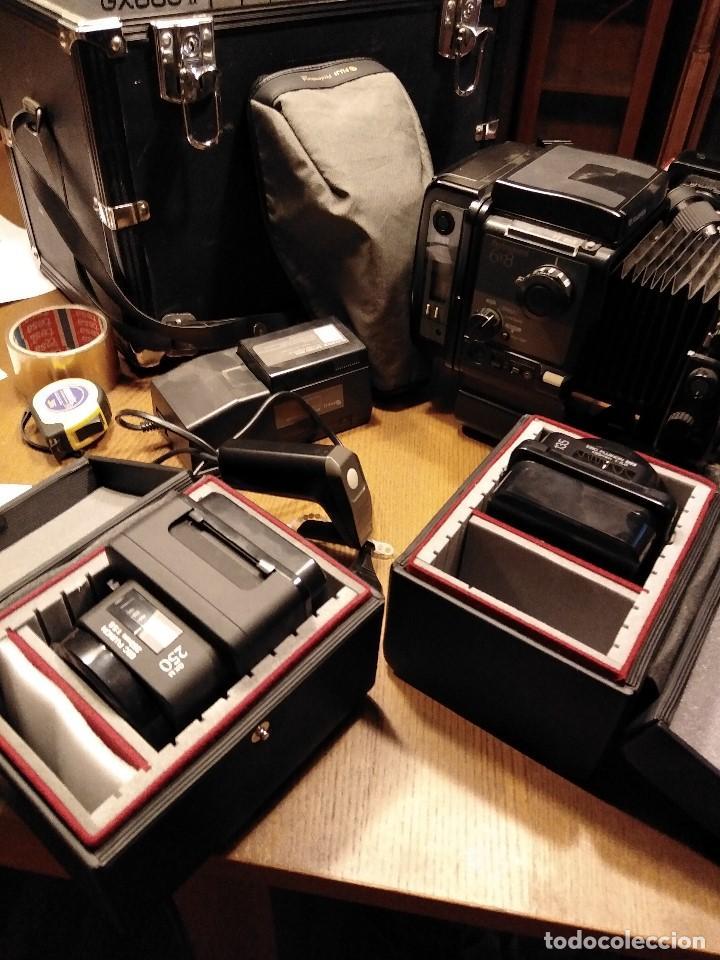 Cámara de fotos: Apabullante equipo de fotografia profesional FUJI GX-680 con tres objetivos, para placas y película - Foto 3 - 220422628