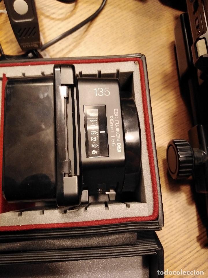 Cámara de fotos: Apabullante equipo de fotografia profesional FUJI GX-680 con tres objetivos, para placas y película - Foto 5 - 220422628