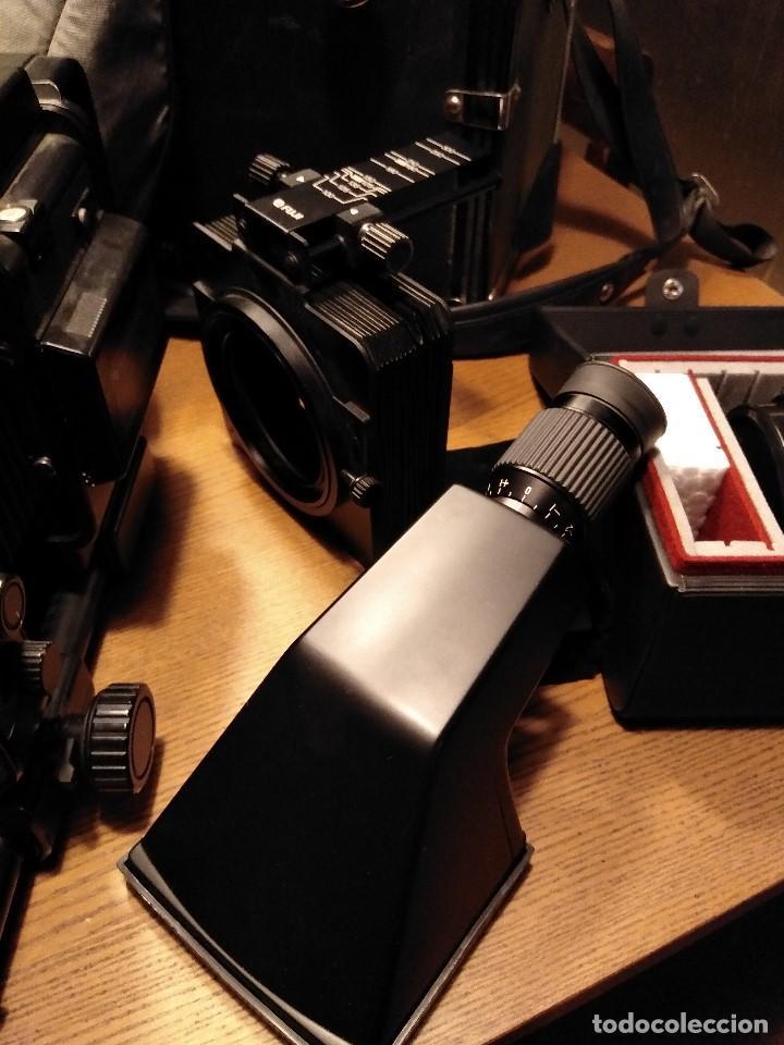 Cámara de fotos: Apabullante equipo de fotografia profesional FUJI GX-680 con tres objetivos, para placas y película - Foto 7 - 220422628