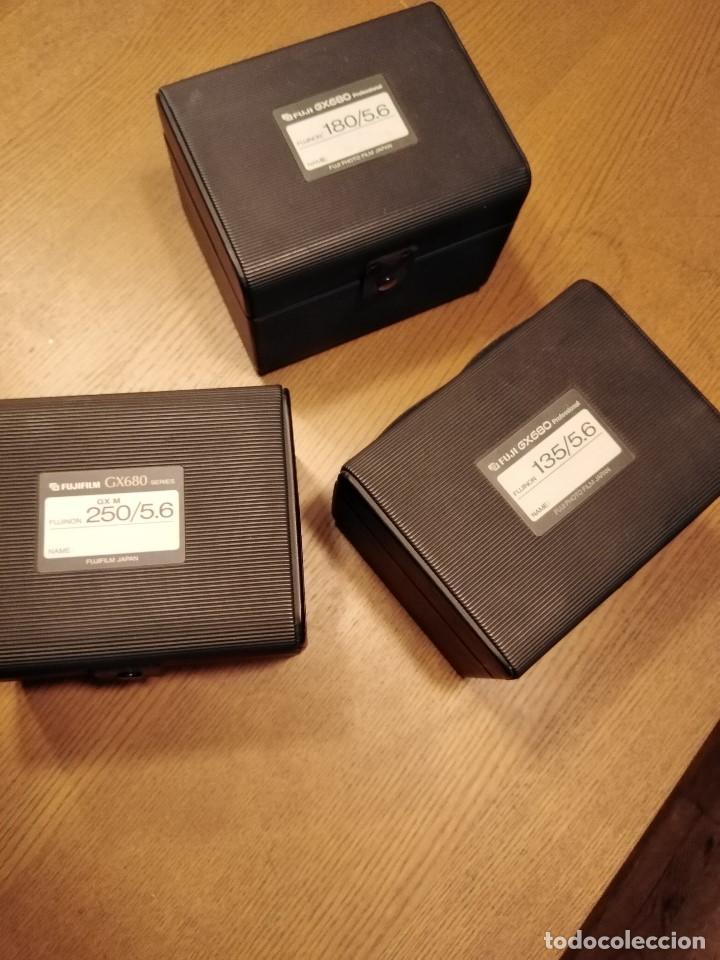 Cámara de fotos: Apabullante equipo de fotografia profesional FUJI GX-680 con tres objetivos, para placas y película - Foto 8 - 220422628