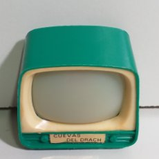 Fotocamere: TELEVISIÓN VISOR DE DIAPOSITIVAS VINTAGE. RECUERDO DE LAS CUEVAS DEL DRACH. Lote 220563818