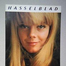 Cámara de fotos: HASSELBLAD PORTRAIT PHOTOGRAPHY. 1970. SOFT COVER 21 X 15 CM. 20 P.. Lote 220658038