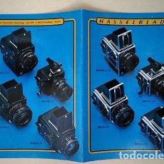 Cámara de fotos: SISTEMA Y ACCESORIOS HASSELBLAD. FOLLETO EN CASTELLANO, 2001. 28 X 21 CM. 28 PÁGINAS. Lote 221148016