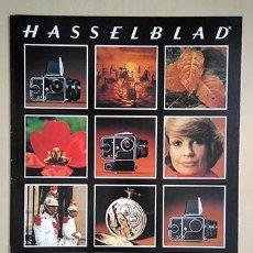 Cámara de fotos: HASSELBLAD, SISTEMA. FOLLETO EN CASTELLANO, 1980. 28 X 21 CM. 16 PÁGINAS. Lote 221148485