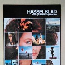 Cámara de fotos: HASSELBLAD, SISTEMA. FOLLETO EN CASTELLANO, 1980. 28 X 21 CM. 32 PÁGINAS. Lote 221148643