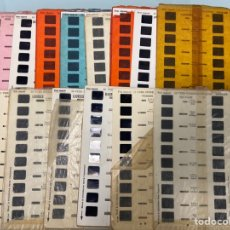 Cámara de fotos: 15 PLANCHAS VISOR ESTEREOSCOPIO SIMPLEX - BARCELONA NIZA LOURDES CARCASSONE BIARRITZ LYON SAVOIA. Lote 221159722