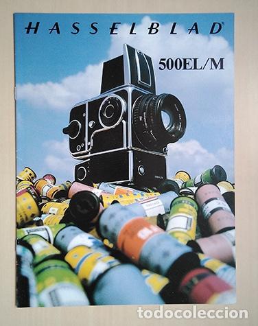 HASSELBLAD 500EL/M. 1980. 28 X 21 CM. 16 PÁGINAS (Cámaras Fotográficas - Catálogos, Manuales y Publicidad)