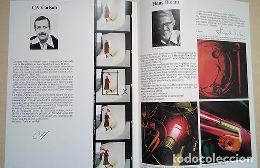 Cámara de fotos: Hasselblad 500EL/M. 1980. 28 x 21 cm. 16 páginas - Foto 3 - 221503417