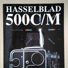 Cámara de fotos: HASSELBLAD 500C/M. 28 X 21 CM. 12 PÁGINAS. Lote 221503518