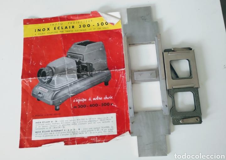 Cámara de fotos: Proyector dispositivos años 50.marca INOX ECLAIR 300-500 - Foto 7 - 221784583