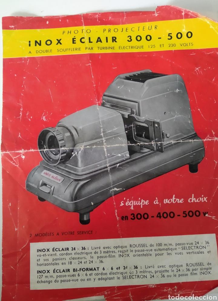 Cámara de fotos: Proyector dispositivos años 50.marca INOX ECLAIR 300-500 - Foto 8 - 221784583