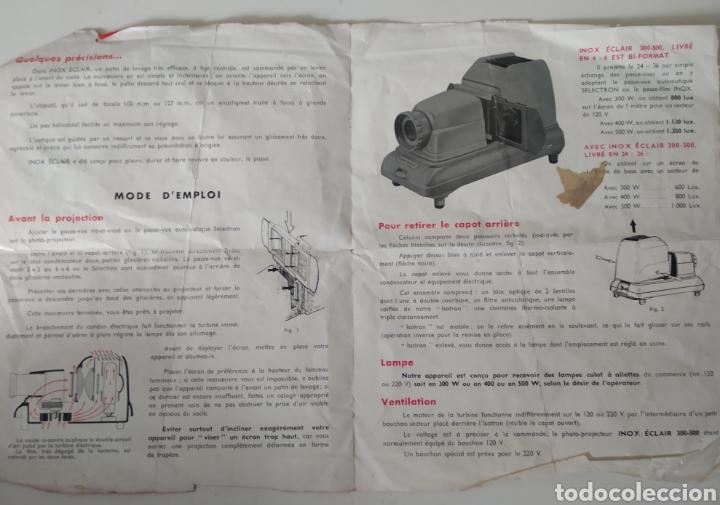 Cámara de fotos: Proyector dispositivos años 50.marca INOX ECLAIR 300-500 - Foto 9 - 221784583