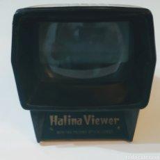 Cámara de fotos: VISOR DE DIAPOSITIVAS HALINA VIEWER. Lote 222076972