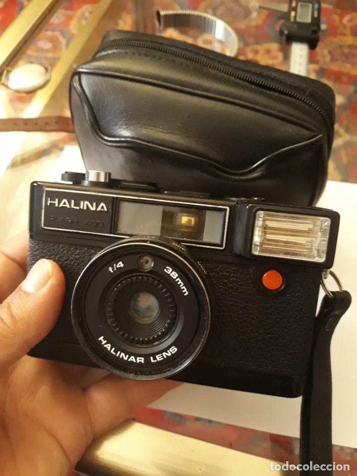 Cámara de fotos: camara fotografica halina flash 400 - Foto 3 - 222097551