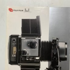 Cámara de fotos: CATALOGO CÁMARA DE FOTOS FUJI FILM GX680 GX 680 DE 1986. Lote 222382257