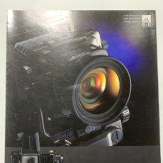 Cámara de fotos: CATALOGO CÁMARA DE FOTOS FUJI FILM GX680 GX 680 DE 1989. Lote 222382695