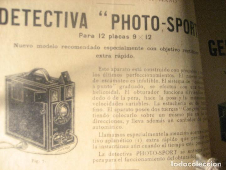 Cámara de fotos: revista catalogo photo - sport . aparatos fotograficos accesoios . corbin . extracto . - Foto 6 - 223072046
