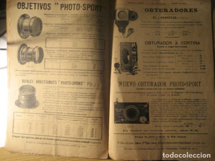Cámara de fotos: revista catalogo photo - sport . aparatos fotograficos accesoios . corbin . extracto . - Foto 8 - 223072046