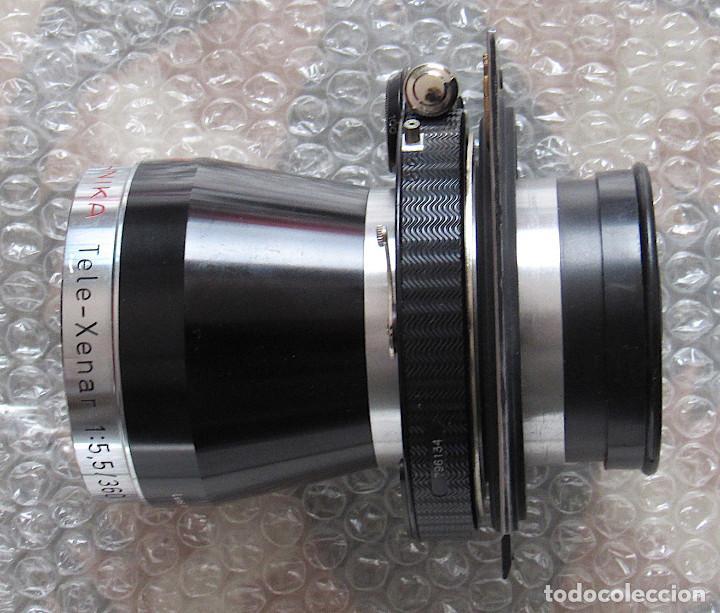 Cámara de fotos: 360mm f5,5 Schneinder Tele-Xenar Technika lens. Compound shutter, lens board, caps, very clean - Foto 2 - 223205307
