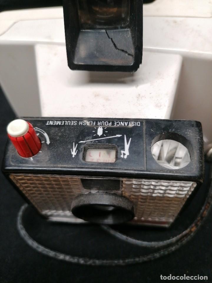 Cámara de fotos: Antigua camara de fotos Polaroid Swinger - Foto 6 - 224056257