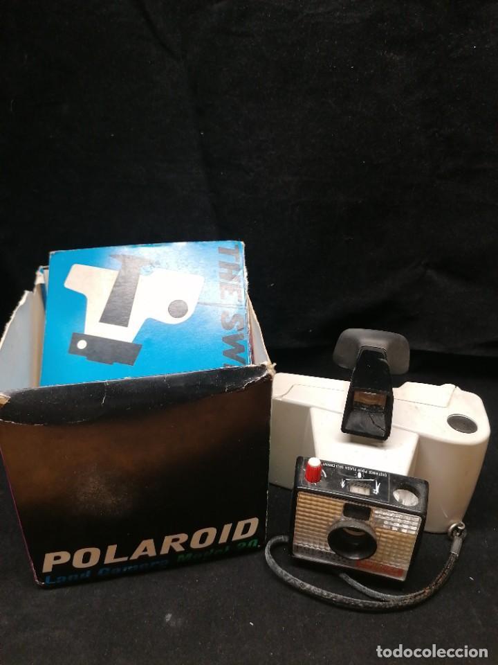Cámara de fotos: Antigua camara de fotos Polaroid Swinger - Foto 7 - 224056257