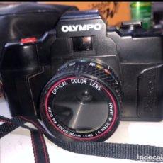 Cámara de fotos: CÁMARA OLYMPO CON ESTUCHE ORIGINAL. Lote 224297840
