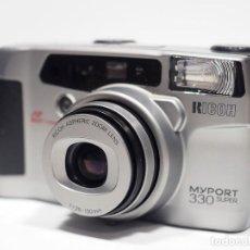 Cámara de fotos: RICOH MYPORT 330 SUPER AF COMPACTO 35MM LENTE ZOOM 38-130MM. Lote 224521511