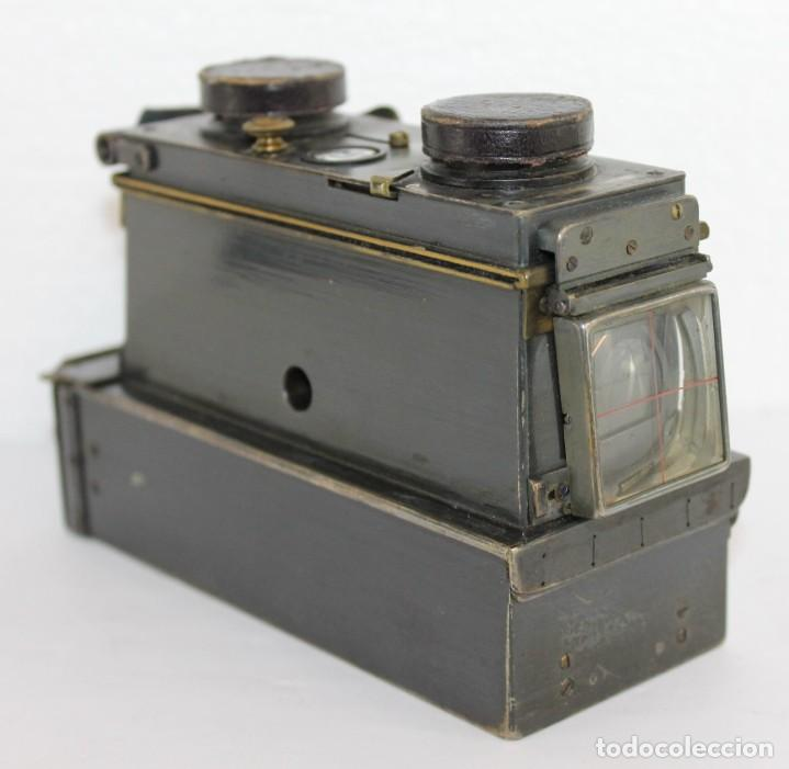Cámara de fotos: Cámara estereoscópica Verascope de Jule Richard con gran cantidad de accesorios. Paris 1900 - Foto 7 - 226098550