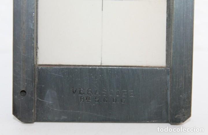 Cámara de fotos: Cámara estereoscópica Verascope de Jule Richard con gran cantidad de accesorios. Paris 1900 - Foto 14 - 226098550