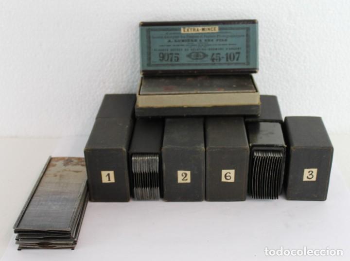 Cámara de fotos: Cámara estereoscópica Verascope de Jule Richard con gran cantidad de accesorios. Paris 1900 - Foto 21 - 226098550