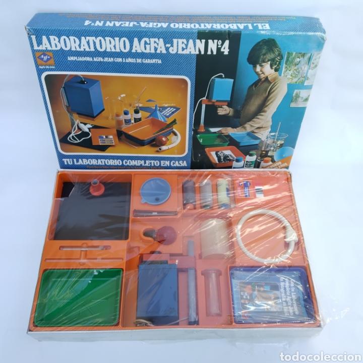 Cámara de fotos: Gran lote LABORATORIO FOTOGRÁFICO AGFA-JEAN, con ampliadora, nunca antes vendido en Todocolección - Foto 2 - 226300250