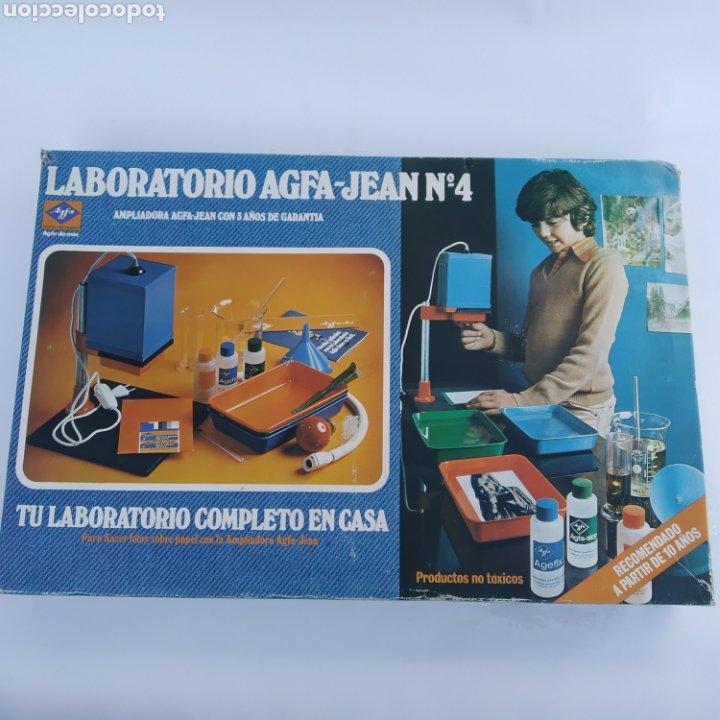Cámara de fotos: Gran lote LABORATORIO FOTOGRÁFICO AGFA-JEAN, con ampliadora, nunca antes vendido en Todocolección - Foto 12 - 226300250