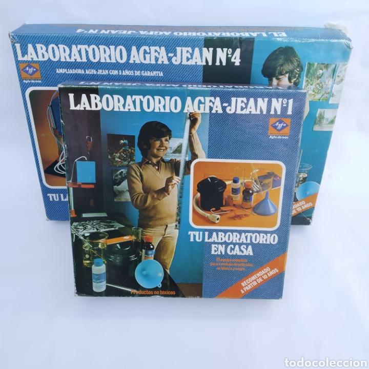 Cámara de fotos: Gran lote LABORATORIO FOTOGRÁFICO AGFA-JEAN, con ampliadora, nunca antes vendido en Todocolección - Foto 20 - 226300250