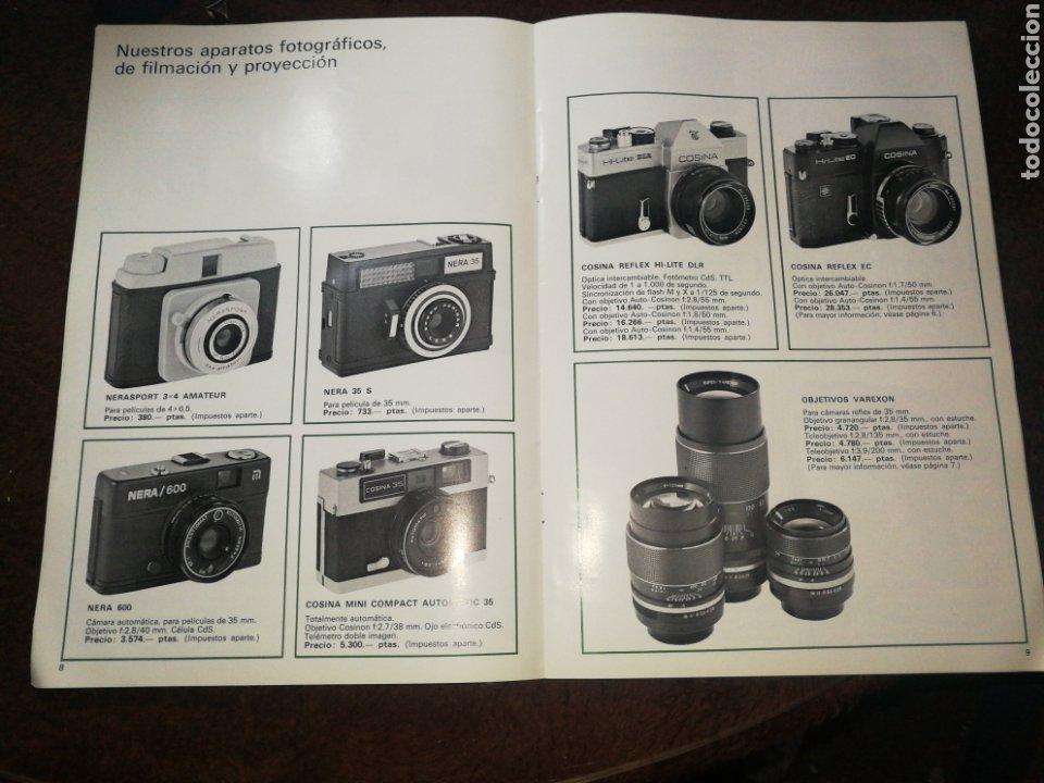 Cámara de fotos: NEGRA INDUSTRIAL(1973) CATALOGO Y TARIFA CÁMARAS FOTOGRAFICAS Y ACCESORIOS. - Foto 3 - 227184164