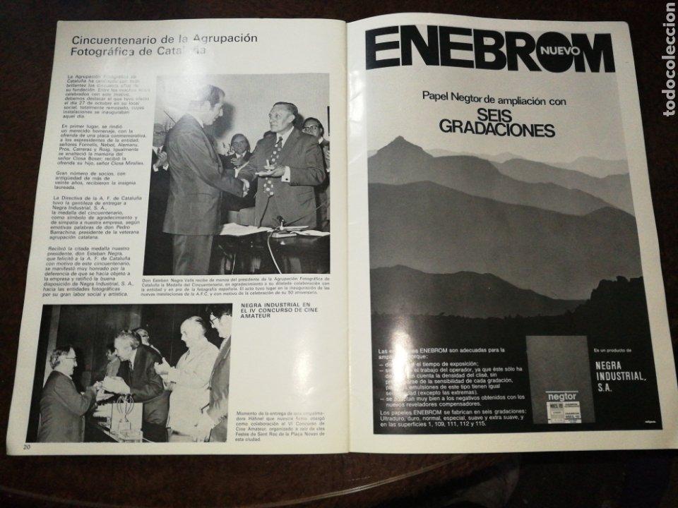 Cámara de fotos: NEGRA INDUSTRIAL(1973) CATALOGO Y TARIFA CÁMARAS FOTOGRAFICAS Y ACCESORIOS. - Foto 7 - 227184164