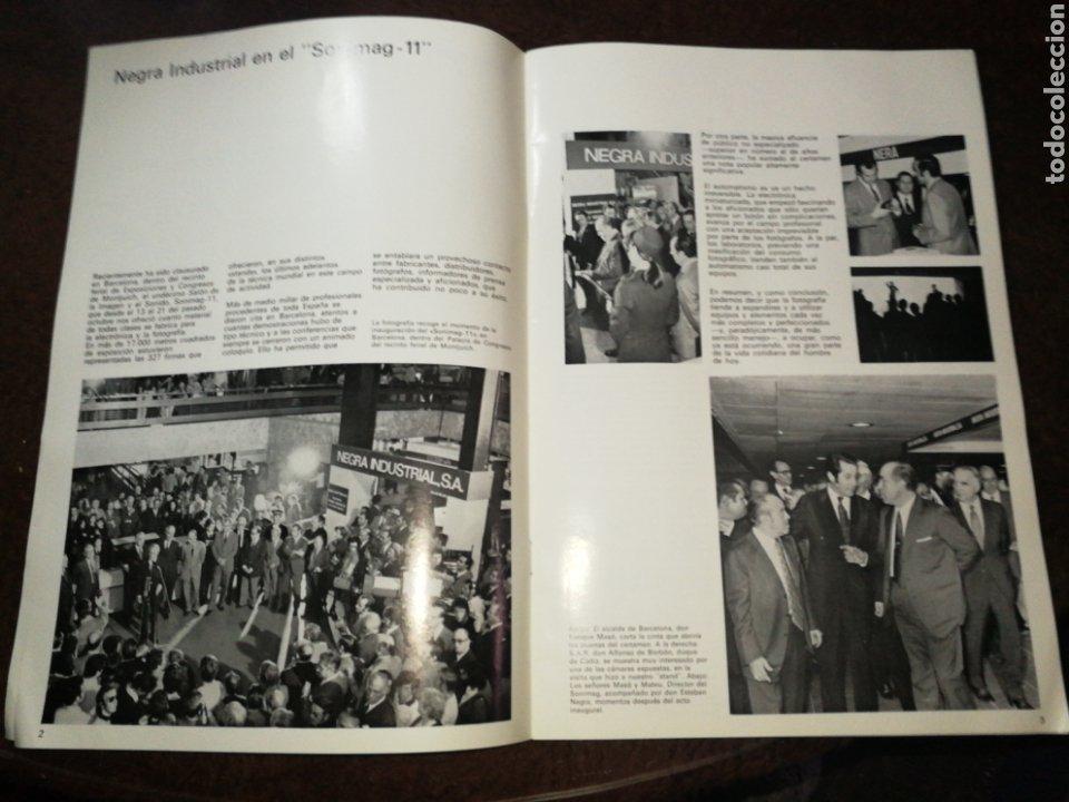 Cámara de fotos: NEGRA INDUSTRIAL(1973) CATALOGO Y TARIFA CÁMARAS FOTOGRAFICAS Y ACCESORIOS. - Foto 8 - 227184164