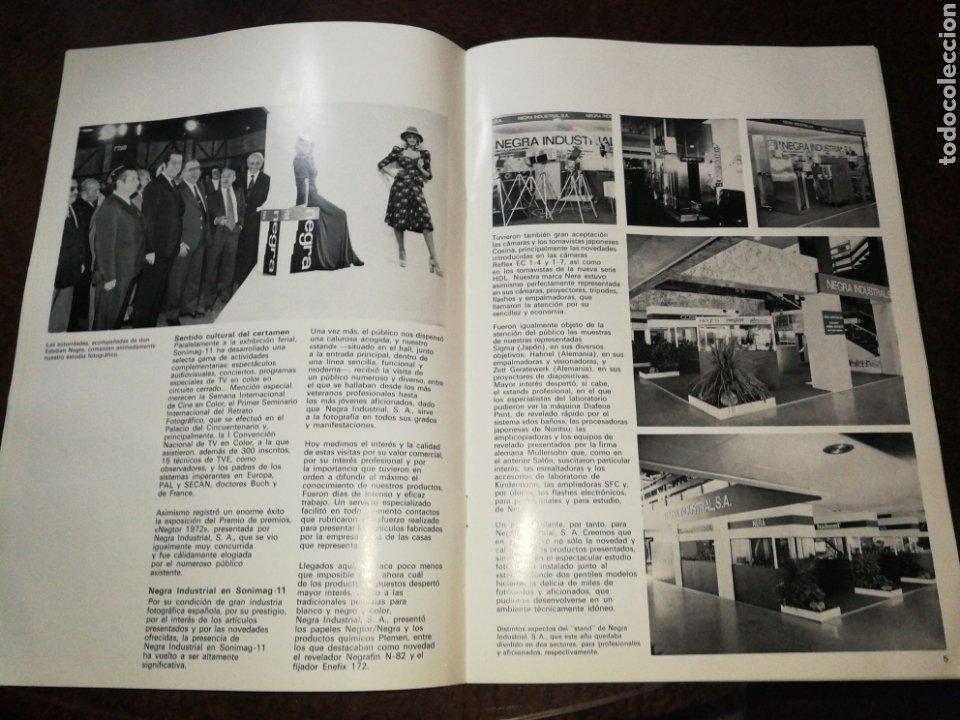 Cámara de fotos: NEGRA INDUSTRIAL(1973) CATALOGO Y TARIFA CÁMARAS FOTOGRAFICAS Y ACCESORIOS. - Foto 9 - 227184164