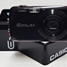 Cámara de fotos: MAQUETA DE CAMARA CASIO EXILIM NEGRA. ES UNA CAMARA FICTICIA. Lote 227219955