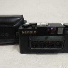 Fotocamere: CAMARA ESTEREOSCÓPICA NIMSLO 3D.1980.RAREZA. Lote 227471660